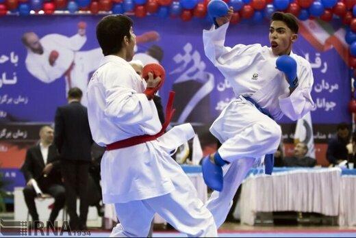 سمنان قهرمان مسابقات کیوکوشین کاراته کشور شد