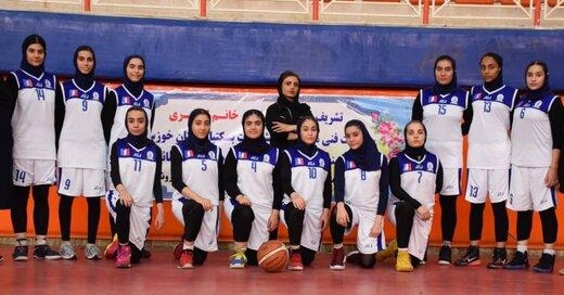 پیروزی قاطع دختران دیار اروند مقابل منتخب استان یزد