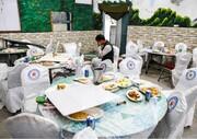 تصاویر | انفجار انتحاری در یک مراسم عروسی در کابل