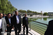 تصاویر | افتتاح دریاچه باغ هنر تهران