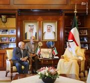 وزير الخارجية الايراني و الكويتي يبحثان أهم القضايا الاقليمية