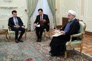 روحاني يؤكد إرادة وعزم إيران على تعزيز العلاقات الوثيقة والودية مع إيطاليا
