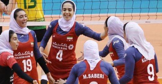 شکست تیم ملی والیبال زنان ایران مقابل کرهجنوبی