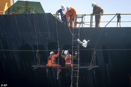 عملیات تغییر نام نفتکش ایرانی گریس١