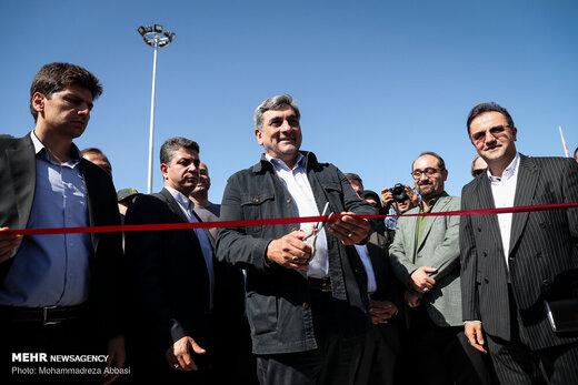 افتتاح دریاچه و محوطه باغ هنر