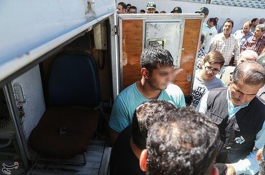 دستگیری اوباش محله مهرآباد