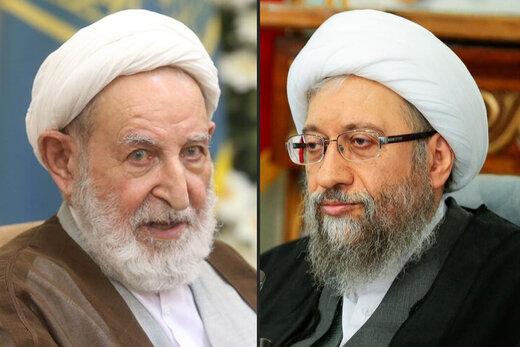 روزنامه جمهوری اسلامی:چرا آقایان یزدی و آملی لاریجانی که باید الگوی اخلاق باشند،به جان هم افتاده اند؟