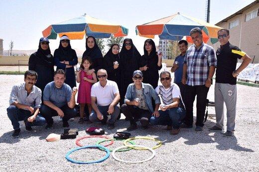 آغاز مسابقات ورزشی روز خبرنگار در آذربایجانغربی در رشته پتانک (بولس)