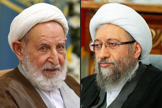 فیلم | واکنش سیاسیون به دعوای پر اتهام آیتالله یزدی و آملی لاریجانی