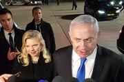نتانیاهو رفتار ناشایست همسرش در اوکراین را توجیه کرد