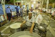 تصاویر | پخت ۱۴۰۰۰ پرس چلومرغ نذری به مناسبت عید غدیر