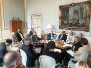 تصاویر   دیدار ظریف و وزیر خارجه سوئد در استکهلم
