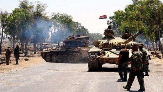 ارتش سوریه در خان شیخون مستقر شد