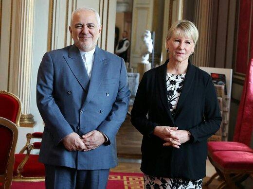 توئیت وزیر خارجه سوئد از دیدارش با ظریف