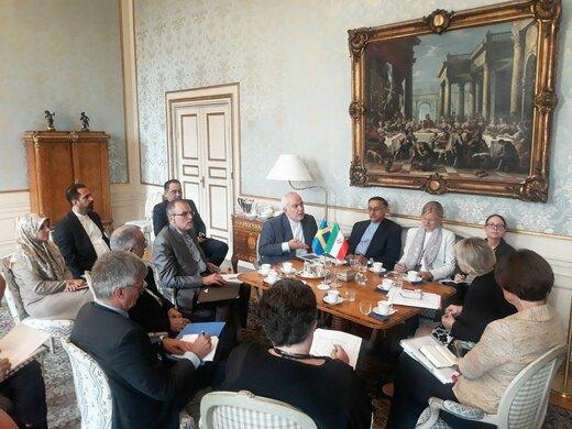 دیدار و گفتگوهای وزرای خارجه جمهوری اسلامی ایران و سوئد