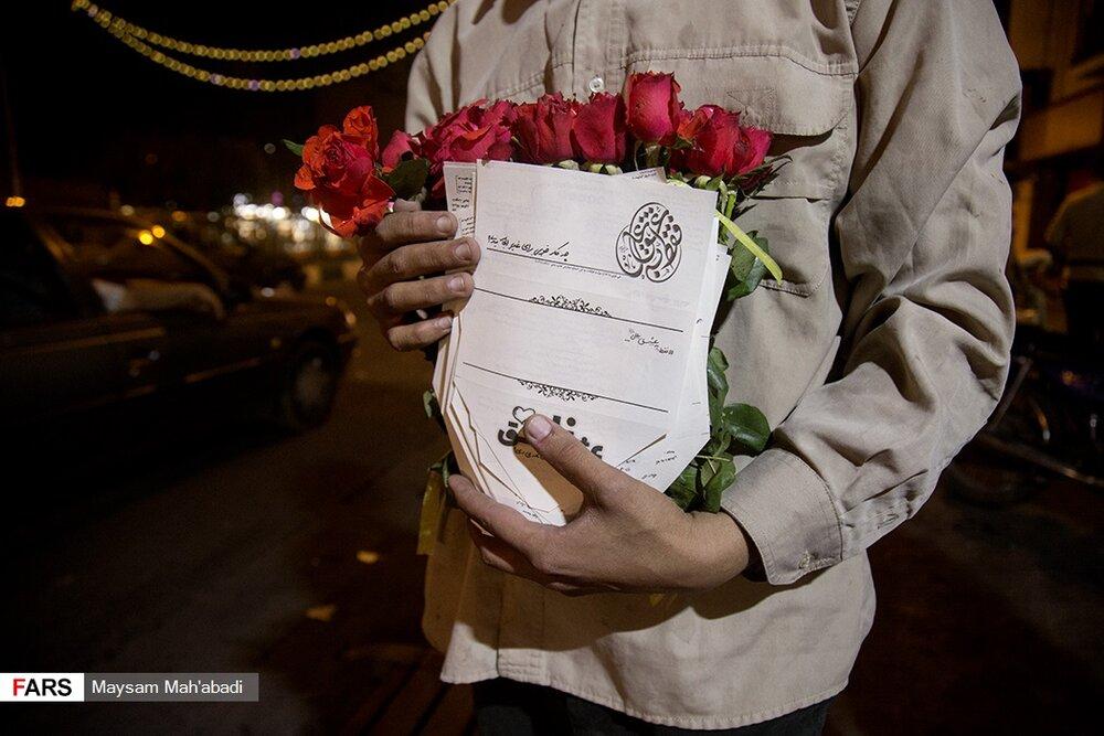 تصاویر | فقط به عشق علی(ع)، در خیابانهای تهران