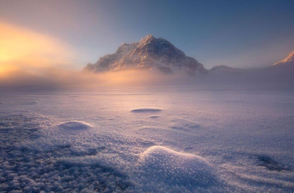 عکس | زیبایی خیالانگیز سرزمین زمستانی در عکس روز نشنال جئوگرافیک