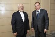 ظریف با نخستوزیر سوئد دیدار کرد