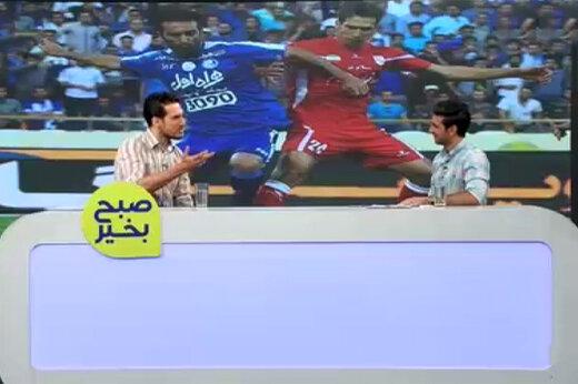 فیلم | خاطره خندهدار فرزاد حاتمی از کودکی حنیف عمرانزاده