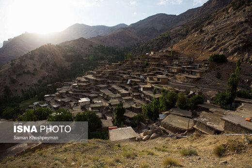روستای «سرآقا سید» در استان چهارمحال و بختیاری