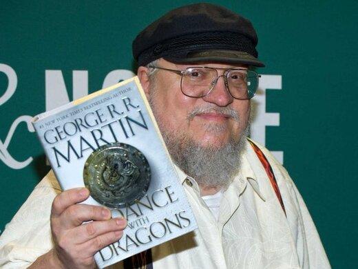 تقدیر از جورج آر.آر. مارتین خالق «بازی تاج و تخت»