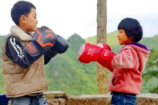 فیلم | تمرین بوکس دختر ۸ ساله چینی که در شبکهها وایرال شد