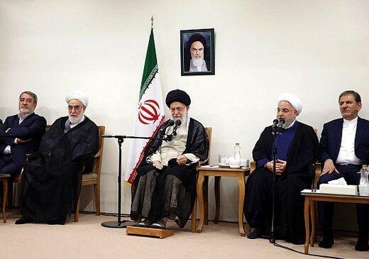 فیلم | رهبر انقلاب :هیچ مقام ایرانی با این آمریکای هتاک ملاقات نمی کند