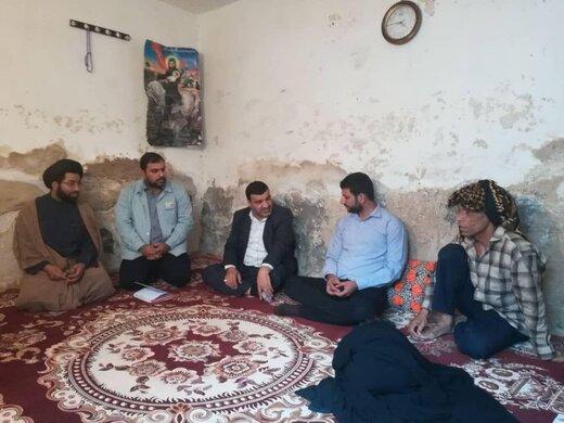 بازدید مدیرعامل شرکت فولاد خوزستان از مناطق محروم