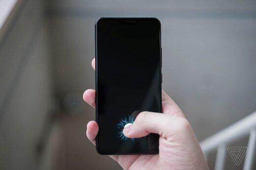 قرارگیری سنسور اثر انگشت درون صفحه نمایش در آیفون ۲۰۲۱