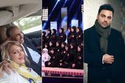 فیلم | از حمله تند احسان علیخانی به خانم بازیگر تا پشت پرده قتل میترا استاد!