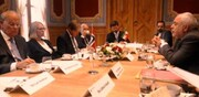 Zarif confers with Norwegian Parliament's foreign policy, defense commission chief