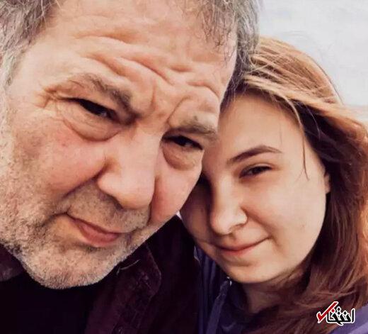 زوج خوشبخت با اختلاف سنی بیش از 4 دهه!+عکس