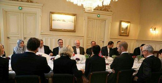 وزرای خارجه ایران و نروژ دیدار کردند