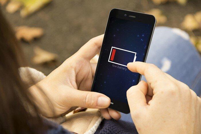 smartphones battery