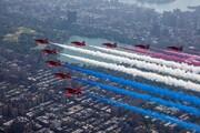 تصاویر | نمایش جنگندهها در آسمان نیویورک