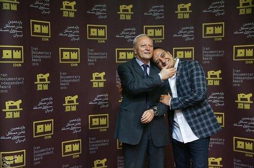 احسان کرمی مجری رسانه در اختتامیه یازدهمین جشن مستقل سینمای مستند