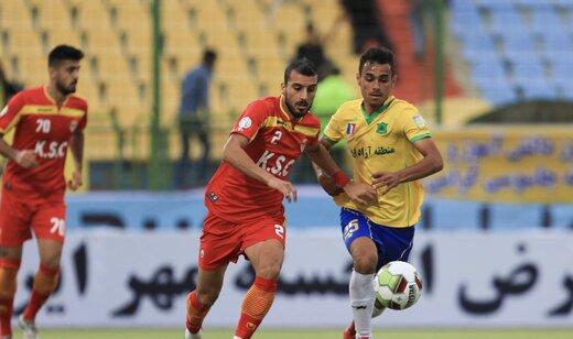 شکست فولاد خوزستان در اولین بازی خانگی فصل