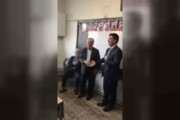 فیلم | اقدام جالب و عجیب پزشک ایرانی برای قدردانی از معلمش