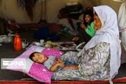 تصاویر | سیلزدگان گنبدکاووس هنوز چادرنشینند