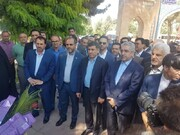 افتتاح ۲۷ طرح آبرسانی شهری و روستایی استان البرز با حضور وزیر نیرو