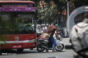تصاویر | اوضاع نابسامانی که همه رانندگان در تهران گرفتارش هستند!