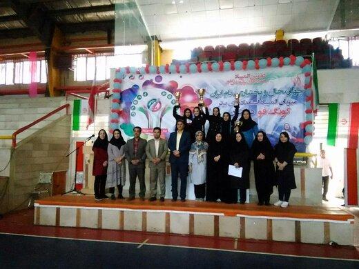 استعدادهای برتر کونگ فو کشور در چهارمحال وبختیاری روی سکو رفتند