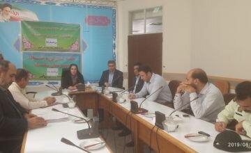 نشست مشترک مدیرکل حفاظت محیط زیست لرستان با فعالین زیست محیطی شهرستان سلسله
