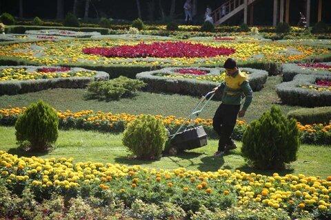 آغاز به کار هفتمین نمایشگاه گل و گیاه در کرج