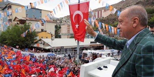 اردوغان: از حقوقمان در شرق مدیترانه علیرغم تهدیدات غرب دفاع میکنیم