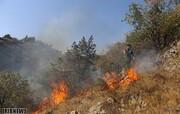 تصاویر | ارسباران همچنان در آتش میسوزد