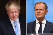 درگیری لفظی جانسون با رئیس شورای اروپا درباره برگزیت