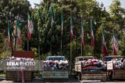 تصاویر | کشف کامیونهای میلیاردی کالای قاچاق در تهران