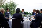 نشست پر تنش 7 کشور صنعتی / پیام حضور ظریف در بیاریتز چه بود؟