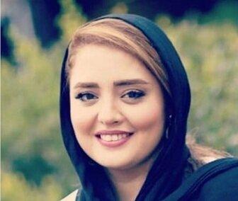 «نرگس محمدی» بچه به بغل/ عکس